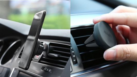 Take Your Pick Of Two Popular Aukey Phone Vent Mounts