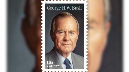 George H.W. Bush to be honored by Postal Service with Forever stamp