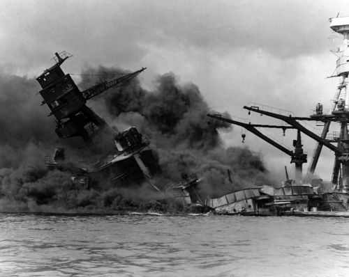 This Day in History: Pearl Harbor is bombed by Japan
