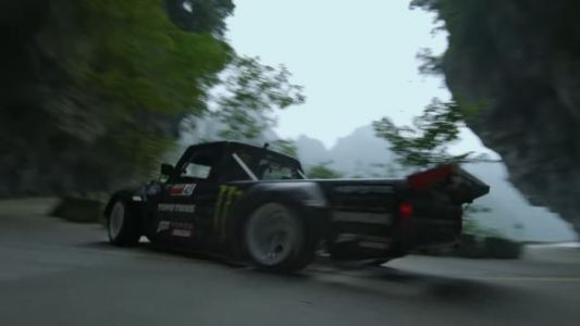 Ken Block Shipped His Hoonitruck To A Chinese Mountain So You Could See Climbkhana 2 On 11/18