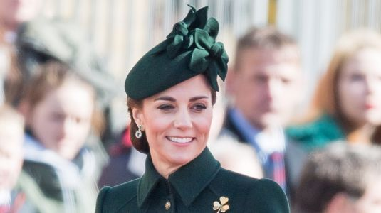 Kate Middleton Celebrates St. Patrick's Day Right in Head to Toe Green While Drinking a Beer