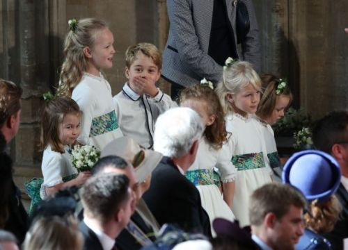 Prince George and Princess Charlotte Had an Absolute Ball at the Latest Royal Wedding