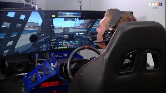 NASCAR drivers use iRacing while Cup Series races are on hold