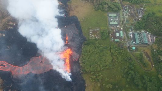 Kilauea's Wrath Threatens Power Plant - And Hawaii's Most Powerful Industry