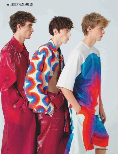Leon Dame, Max Barczak + More Don Dries Van Noten for GQ Germany