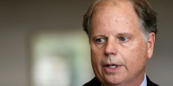 Alabama Sen. Doug Jones says ISIS bride Hoda Muthana should be allowed back into the US to face the criminal justice system