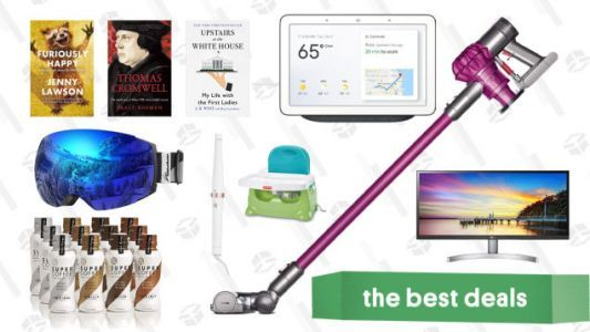 Sunday's Best Deals: Dyson V6 Ultimate, Google Home Hub, LG Ultrawide Monitors, And More