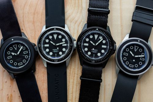 Unimatic Debuts Limited Edition, Ultra Clean UI Watch Series