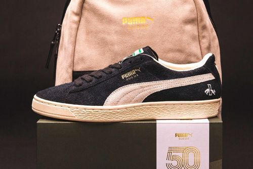 PUMA Celebrates Suede's 50th Anniversary With Rudolf Dassler-Inspired Colorway
