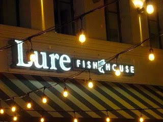 Hoping for a Tempting Meal at Lure Fish House