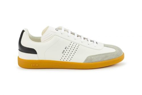 Dior's Luxe B01 Sneakers Receives Smooth Italian Calfskin Makeover