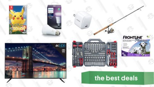 Wednesday's Best Deals: Fishing Gold Box, Pokémon Let's Go Bundle, Norwegian Airlines Sale, and More