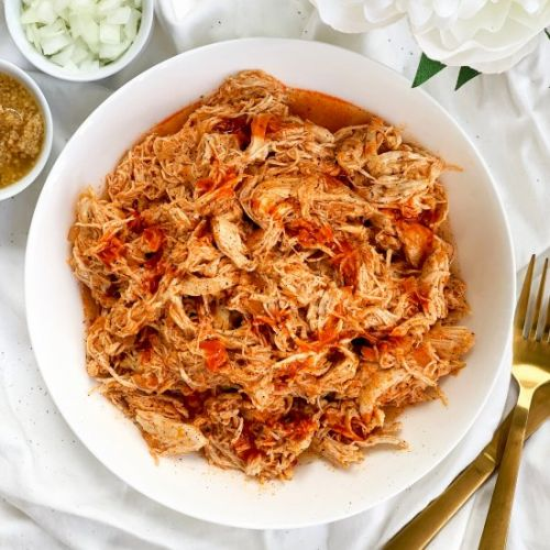 Keto Slow Cooker Buffalo Chicken