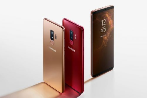 """Samsung Debuts """"Sunrise Gold"""" & """"Burgundy Red"""" Galaxy S9 & S9+"""
