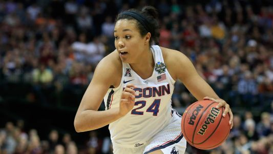 Women's NCAA Tournament: UConn scores 94 points. in first half