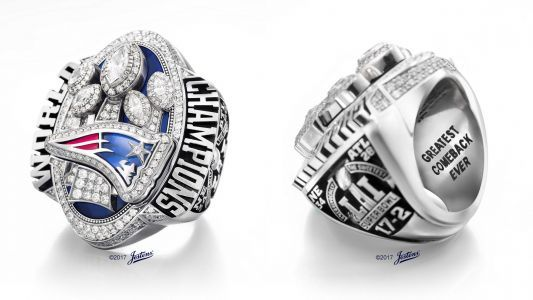 Kraft's Super Bowl LI ring goes for more than $1M at auction