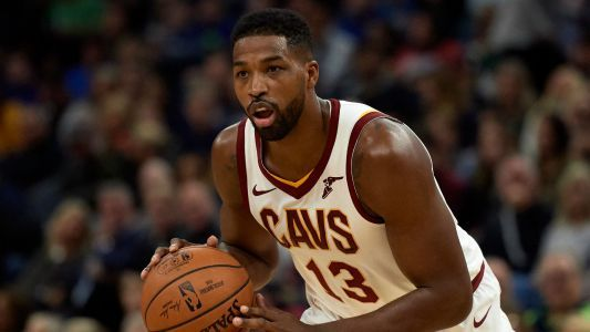 Cavs' Tristan Thompson is probably going to get fined for flipping off Nets fans