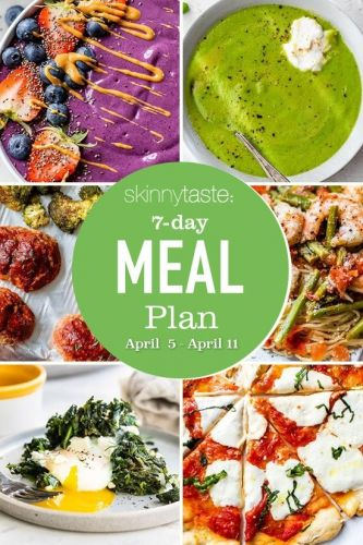Fast Weeknight Dinners | Meal Plan Menu