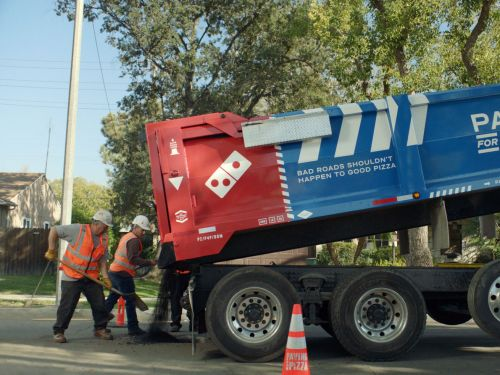 What America's Mayors Think of Domino's Pothole-Paving Publicity Stunt