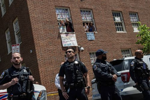 Police arrest activists squatting in Venezuelan Embassy