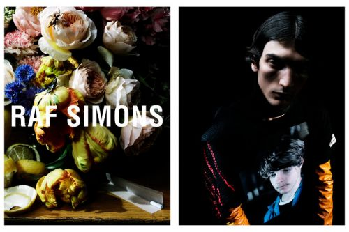 Raf Simons Taps Floral Arrangements for Fall/Winter 2018 Campaign