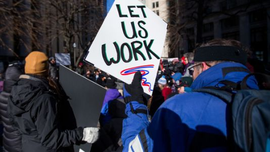 D.C. Judge Tells Furloughed Workers They Must Stay On The Job
