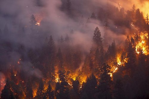 Fire season could bring complications to states already battling Covid-19