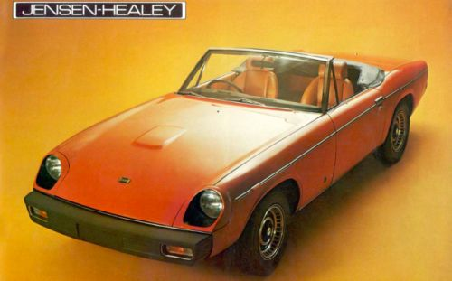 Here's a cool old sports car that doesn't get enough love: the Jensen-Healey Mk
