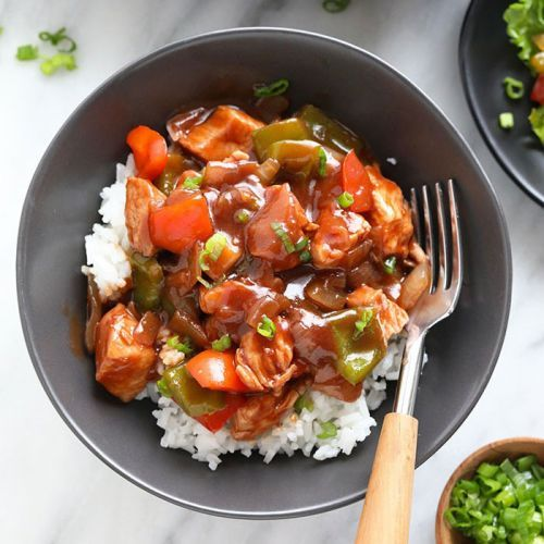 Amazingly Healthy Sweet and Sour Chicken