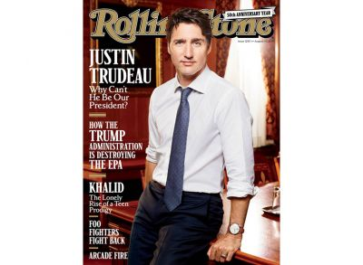 4 Things We Learned From PM Justin Trudeau's Rolling Stone Cover Story