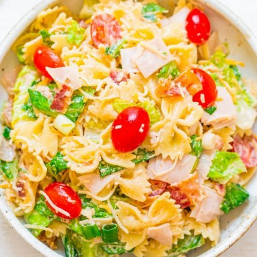 Club Sandwich Pasta Salad