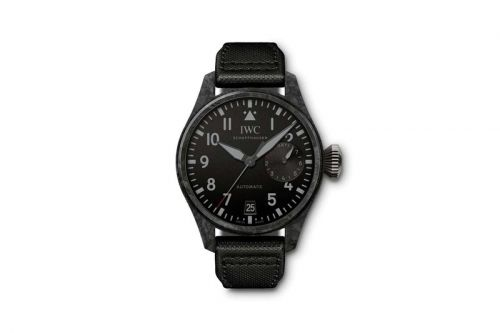 "IWC Introduces Big Pilot's Watch in Smooth ""Black Carbon"" Edition"