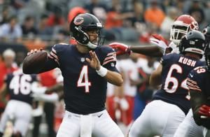 'Jeez, that's a long time ago': With Mitch Trubisky ailing, Bears backup Chase Daniel in line to make his first start since 2014
