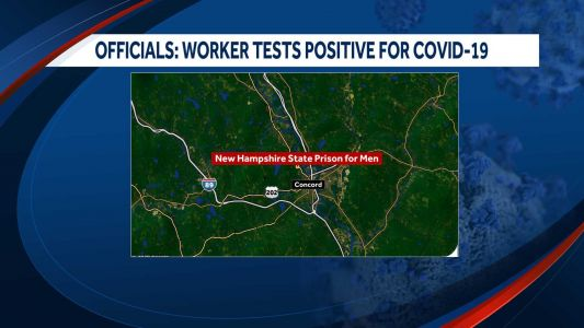 Employee at NH State Prison for Men tests positive for COVID-19, officials say