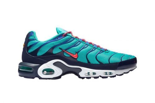 "Nike's Air Max Plus Receives a ""Hyper Jade"" Revamp"