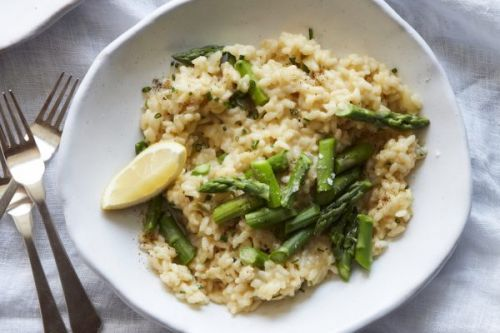 Asparagus and Parmesan Risotto