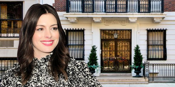 Anne Hathaway is selling her NYC penthouse for $3.5 million. Look inside the elegant 2-bedroom residence that sits atop a 116-year-old mansion half a block from Central Park