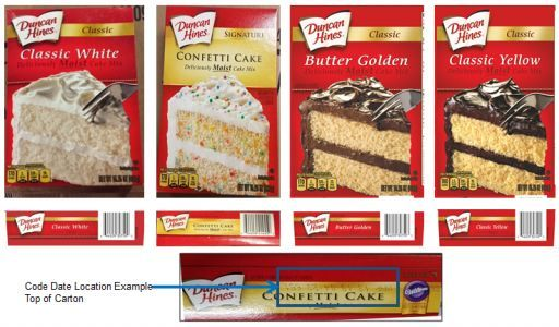 Duncan Hines cake mix recalled due to salmonella concerns