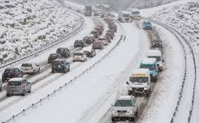 Icy UK roads make travelling difficult, cause widespread disruptions