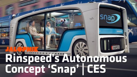 Rinspeed's Snap Perfectly Captures What Can Be Done With An Autonomous Car