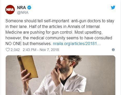 Doctors push back with stories of saving gun violence victims after NRA tells them 'stay in their lane'