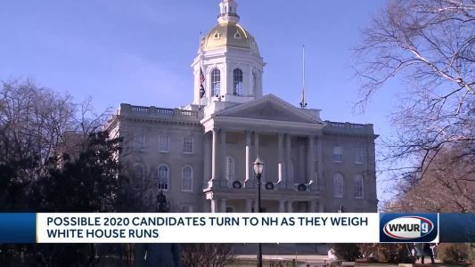 Possible 2020 contenders turn to NH as they mull White House runs