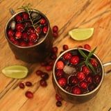 Make Your Spirits Bright With This Holiday Moscow Mule Recipe Featuring Fresh Cranberries