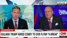 Rudy Giuliani Now Says Trump, Comey Never Discussed Michael Flynn