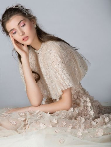 The GEORGES HOBEIKA Bridal Fall 2019 collection emphasize