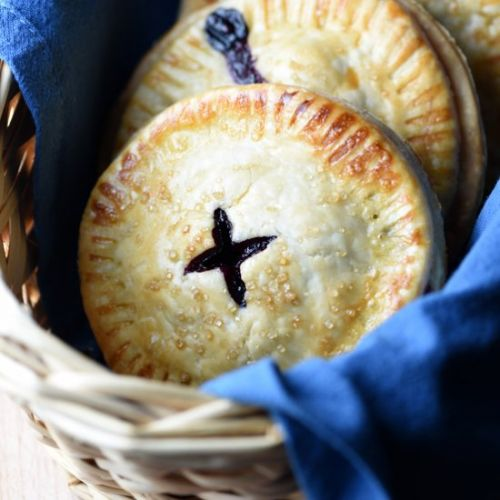 Blueberry-Coconut Mini Hand Pies