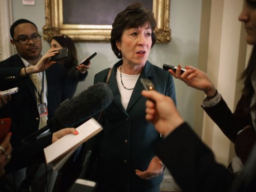 Republican Sen. Susan Collins is calling on the FCC to cancel the net neutrality vote