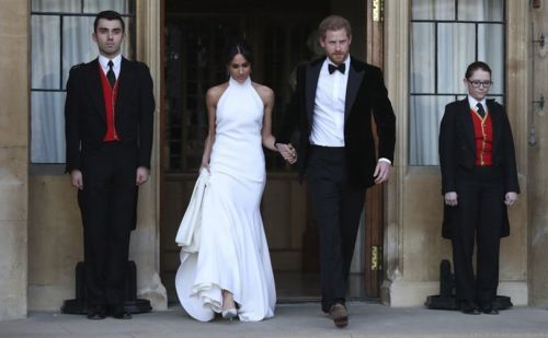 Stella McCartney to recreate Meghan Marke's wedding reception dress