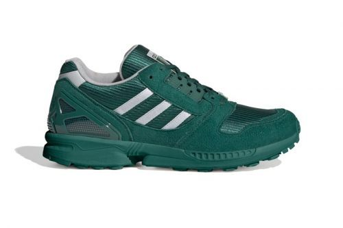 "Adidias Blankets Its ZX 8000 in ""Collegiate Green"""
