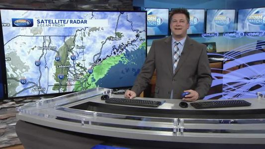 Watch: Snow continues for some across NH; wintry mix, rain at coast